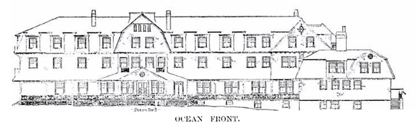 Cotocheset House, ocean side