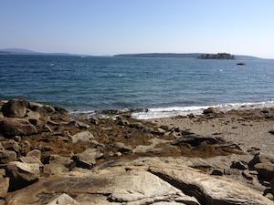 Blue Hill shore