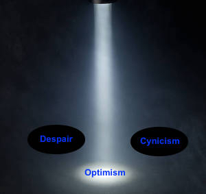 Spotlight focuses on optimism