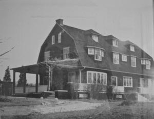 Emilie Loring's Wellesley Hills home