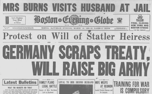 Boston News in 1935