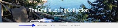 Emilie Loring Collection navigation