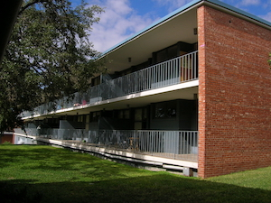 Trinity University dormitory