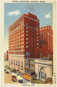 Hotel Bradford home of WBZ