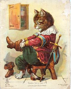 Puss in Boots fairy tale