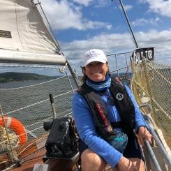 Baddeck sail