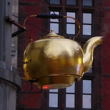 A tea kettle, of course! :)