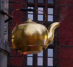 A tea kettle, of course! :)