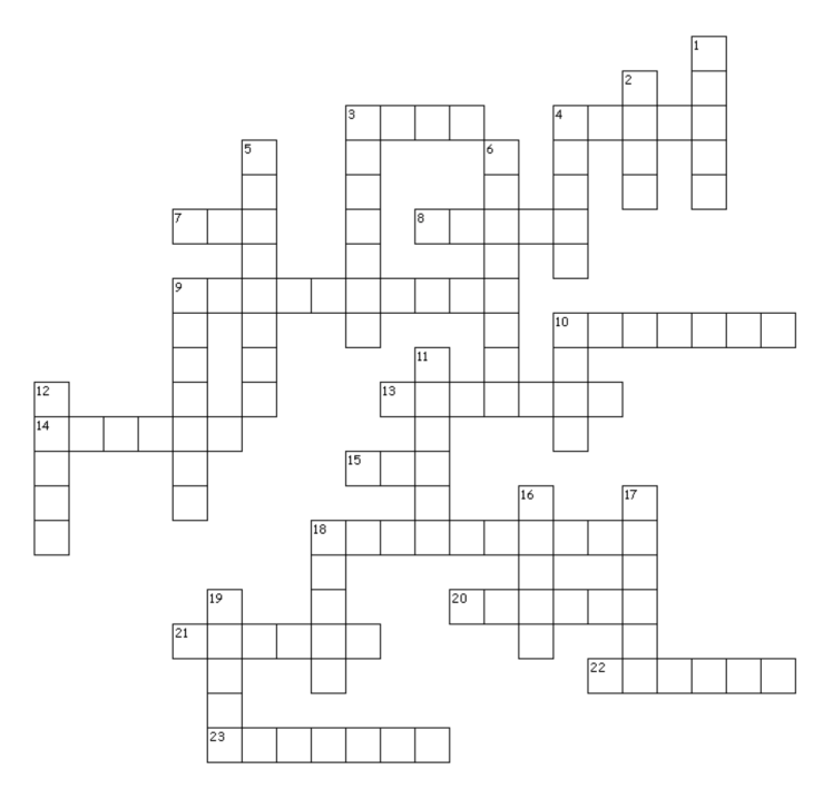 Emilie Loring Crossword