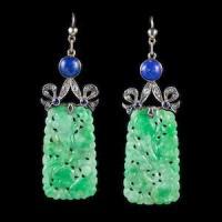 1915 jade earrings
