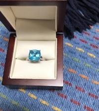 Blue and unique