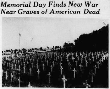 1940 New War near US graves