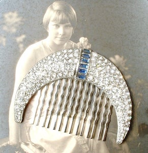 """""""Silvery Moon"""" comb"""