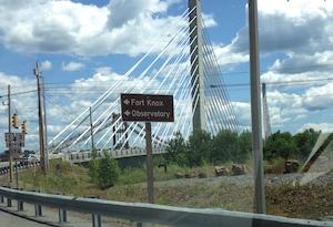 Belfast bridge