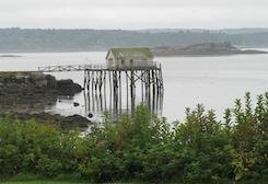 boathouse on stilts