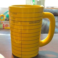 library-card mug