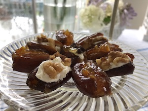 Emilie's stuffed dates